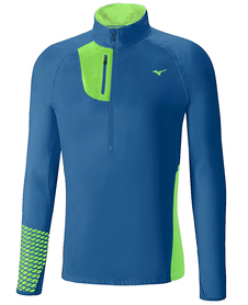 Mizuno Breath Thermo Premium Windtop lekka bluza do biegania