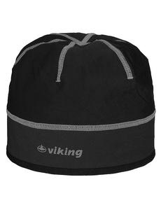 Viking Windstopper lekka, wiatroszczelna czapka czarno-szara