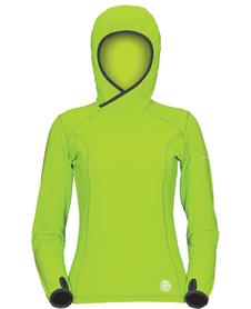 Milo Sego damska bluza polarowa zielona