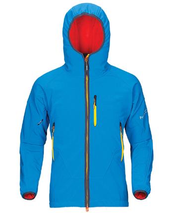 Milo Kools męska kurtka softshell niebieska
