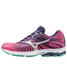 Mizuno Sayonara 4 - damskie buty do biegania  - fuchsia