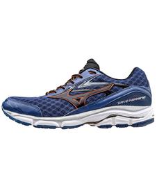 Mizuno Wave Inspire 12 - stabilizujące buty do biegania - niebieskie