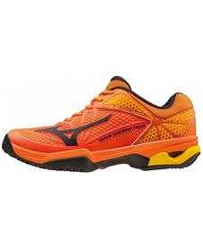 Mizuno Wave Exceed Tour 22 CC - męskie buty do tenisa  - pomarańczowe