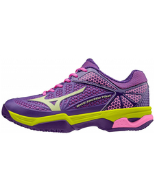 Mizuno Wave Exceed Tour 22 W CC - damskie buty do tenisa  - pansy