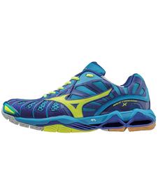 Mizuno Wave Tornado X - buty siatkarskie - niebieskie