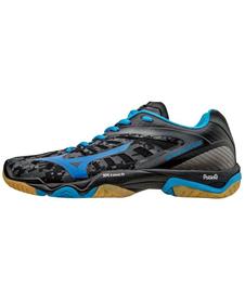 Mizuno Wave Mirage - buty halowe - czarne / niebieskie