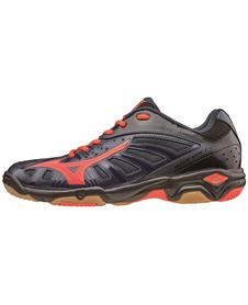 Mizuno Wave Volcano - buty halowe - czarne
