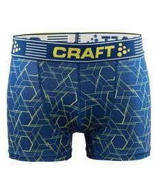 Craft Greatness Boxer 3-inch - męskie bokserki - niebieskie print