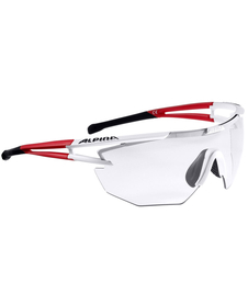 Alpina Eye-5 Shield VL+ okulary sportowe - czerwone