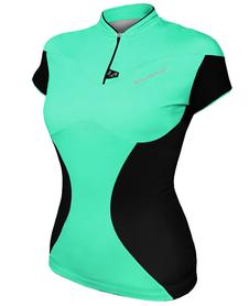 Berkner Dalia - damska koszulka rowerowa - jasna mięta