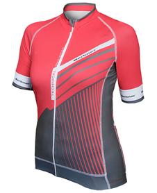 Berkner Donata - damska koszulka rowerowa z długim zamkiem