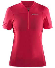 Craft Motion Jersey - damska koszulka rowerowa - amarantowa