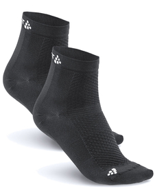 Craft Cool Mid 2-Pack Sock - skarpety sportowe - czarne