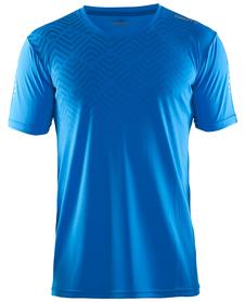 Craft Mind SS Tee koszulka męska niebieska print