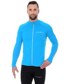 Brubeck Athletic - męska bluza niebieska
