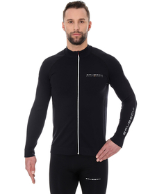 Brubeck Athletic - męska bluza czarna