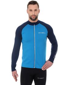 Brubeck Athletic - męska bluza niebieska/granatowa