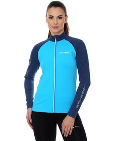 Brubeck Athletic - damska bluza lazur/niebieski