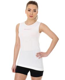 Brubeck 3D Run PRO damski bezrękawnik do biegania biały