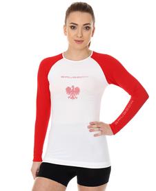 Brubeck 3D Husar PRO damska koszulka z długim rękawem