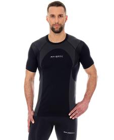 Brubeck Dynamic Outdoor koszulka z krótkim rękawem czarna