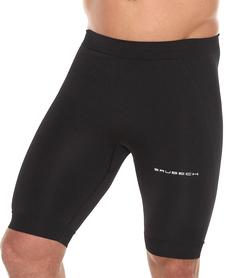 Brubeck Running Force - krótkie męskie legginsy do biegania