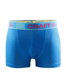 Craft Greatness Boxer 3-inch - męskie bokserki - niebieskie