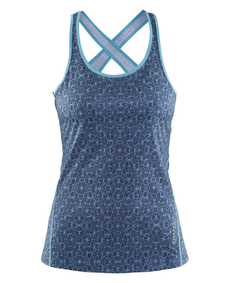 damska koszulka do biegania Craft Mind Singlet - niebieska
