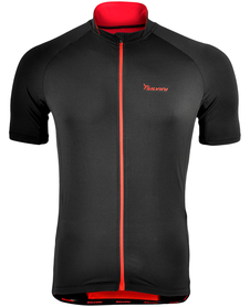 Silvini Pescara męska koszulka rowerowa - czarna
