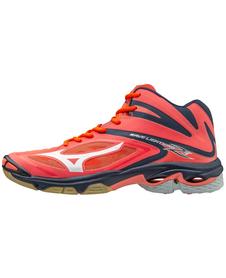 Mizuno Wave Lightning Z3 MID - damskie buty siatkarskie koralowe