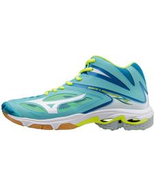 Mizuno Wave Lightning Z3 MID - damskie buty siatkarskie niebieskie
