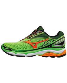 Mizuno Wave Inspire 13 - stabilizujące buty do biegania - Green Gecko