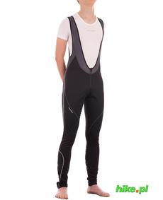 Silvini Movenza męskie wiatroszczelne spodnie rowerowe na szelkach z wkładką