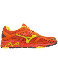 Mizuno Wave Mujin 4 - buty do biegania w terenie - pomarańczowe