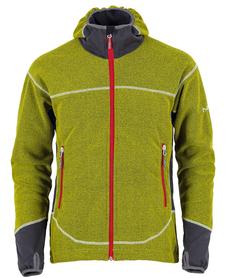 MILO CHITE męska bluza z kapturem zielona