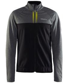 Craft Rime Jacket męska wiatroszczelna kurtka rowerowa czarna