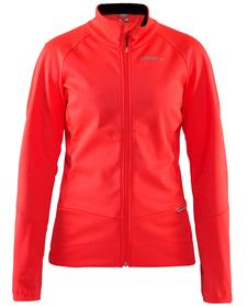 Craft Rime Jacket - damska kurtka rowerowa różowa