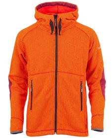 MILO AMUN męska kurtka polarowa, pomarańczowa