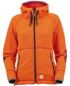 MILO AMUN damska kurtka polarowa, pomarańczowa