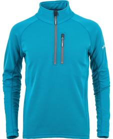 MILO GEO męska bluza stretch, niebieska