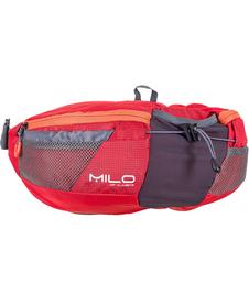 MILO NOTTY torba biodrowa dla biegaczy, czerwona