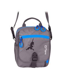 MILO TARO mała torba turystyczna do noszenia na ramieniu lub na pasku, szara