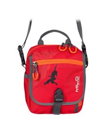MILO TARO mała torba turystyczna do noszenia na ramieniu lub na pasku, czerwona