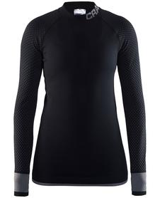 Craft Warm Intensity CN LS - koszulka damska - czarna
