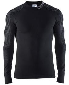 Craft Warm Intensity CN LS - koszulka męska - czarna