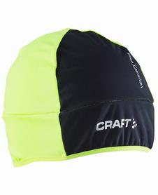 Craft Wrap Hat czapka z wiatroszczelnym przodem czarna/żółta