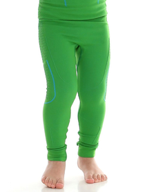 dziecięce kalesony termoaktywne Brubeck Thermo zielone