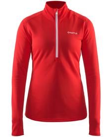 Craft Sweep Halfzip damska ocieplana bluza czerwona