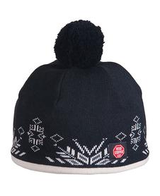 Viking Windstopper - wiatroszczelna czapka z pomponem - czarna