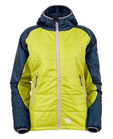 MILO BOMO LADY damska kurtka zimowa, limonka/granat